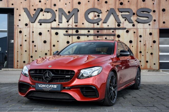Mercedes Benz E63s AMG 4MATIC